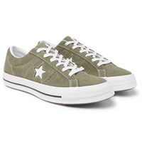 Converse One Star Ox Suede Sneakers Green