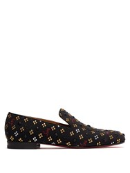 Christian Louboutin Rollerboy Jacquard Loafers Multi