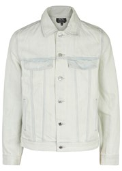 A.P.C. Waren Bleached Denim Jacket