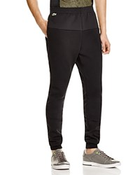 Lacoste Lifestyle Mesh Trim Sweatpants 100 Bloomingdale's Exclusive Black
