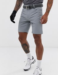 Calvin Klein Golf Genius Shorts In Grey