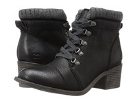 Billabong Outer Limits Off Black Women's Lace Up Boots