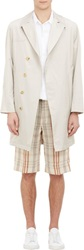 Duckie Brown Lightweight Trench Coat Nude Size 40