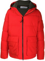 Closed Colour Block Padded Jacket 60