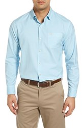 Tommy Bahama Men's Big And Tall 'Islant Twill' Sport Shirt Corydalis Blue