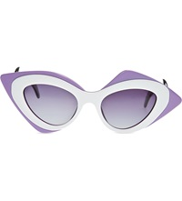 Prabal Gurung Mask Sunglasses Pink
