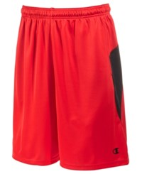 Champion Men's X Temp Vapor Training Shorts Scarlet Black