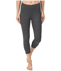 Soybu Killer Caboose Capris Charcoal Women's Workout Gray