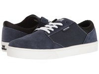 Supra Yorek Low Navy White Men's Skate Shoes Blue