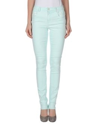 Siviglia Denim Denim Pants Light Green