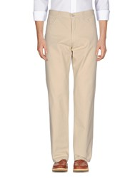 Fred Perry Casual Pants Sand