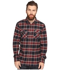 Vans Banfield Flannel Shirt Dress Blues Port Men's Long Sleeve Button Up Multi