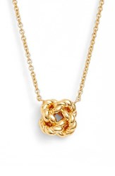 Tory Burch Women's Rope Knot Pendant Necklace