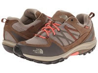 The North Face Storm Fastpack Wp Dune Beige Fiesta Red Women's Cross Training Shoes Brown