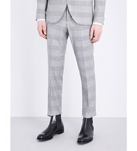Tiger Of Sweden Gordon Tapered Wool Blend Trousers Grey