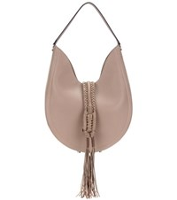 Altuzarra Ghianda Knot Hobo Large Leather Shoulder Bag Brown