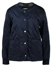 Abercrombie And Fitch Light Jacket Navy Dark Blue