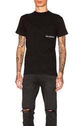 Han Kjobenhavn Small Chest Logo Tee Black