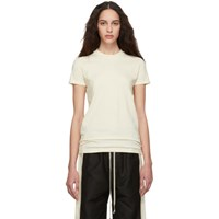 Rick Owens Drkshdw Off White Crew Level T Shirt