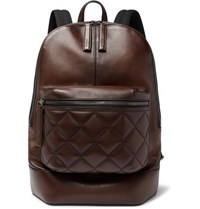 Berluti Volume Mm Leather Backpack Brown