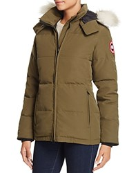 Canada Goose Chelsea Down Coat Military Green