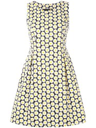 Love Moschino Daisy Print Dress Blue