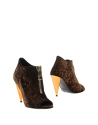 Never Ever Shoe Boots Dark Brown