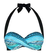 Gottex Surplice Bikini Top C Cup Female Blue
