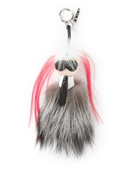 Fendi 'Karlito' Bag Charm Black