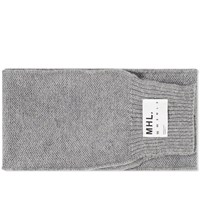Mhl By Margaret Howell Mhl. Chunky Scarf Grey