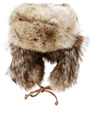 Crown Cap Men's Fur Trapper Hat Nude