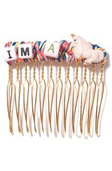Venessa Arizaga 'I'm A Unicorn' Hair Comb