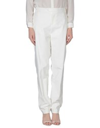Xandres Trousers Casual Trousers Women White