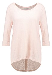 Only Onlcasa Long Sleeved Top Peach Whip Salmon