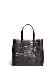 Azzedine Alaia 'Vienne' Perforated Leather Tote