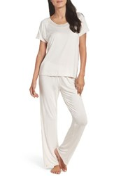 Naked Women's Stretch Modal Pajamas Cream