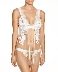 For Love And Lemons Sicily Nighty Robe Ivory Nude