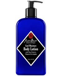 Jack Black Cool Moisture Body Lotion With Soy Protein Vitamin E And Jojoba 16 Oz