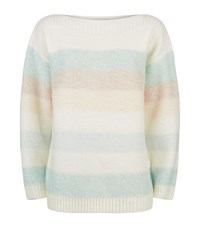 Reiss Naya Striped Jumper Female White