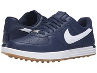 Nike Lunar Force 1 Midnight Navy Gum Yellow White Men's Golf Shoes Blue