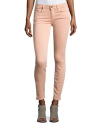Paige Verdugo Ankle Skinny Jeans Faded Petal Pink