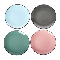 Pols Potten Colour Scales Plates Set Of 4
