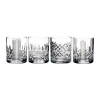 Waterford Lismore Revolution Tumblers Set Of 4