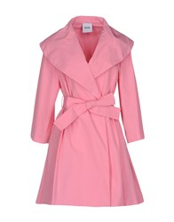 Moschino Cheap And Chic Overcoats Pink