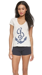 Sol Angeles Anchors Away Scoop Tee