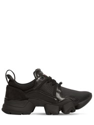 Givenchy Jaw Suede Nylon And Mesh Sneakers Black