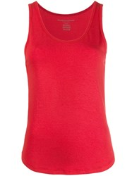 Majestic Filatures Jersey Tank Top Red