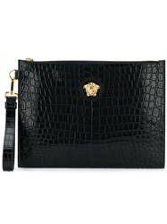 Versace Medusa Clutch Bag Black