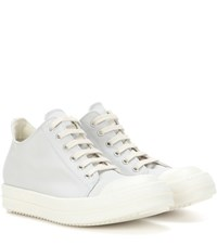 Rick Owens Drkshdw Canvas Sneakers Blue