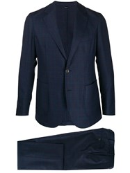 Tombolini Two Piece Fitted Suit Blue